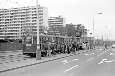 Zastávka Autobusové nádraží Pankrác (1972) | FOTO: Lubomír Kysela
