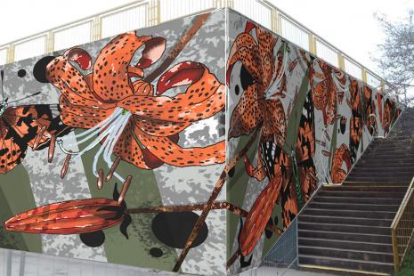 Vítězný návrh mural artu ustanice metra Opatov.